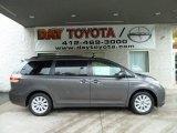 2011 Predawn Gray Mica Toyota Sienna LE AWD #53774427