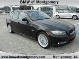 2011 Jet Black BMW 3 Series 335d Sedan #53671647