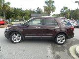 2011 Bordeaux Reserve Red Metallic Ford Explorer Limited #53671634