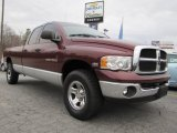 2003 Dark Garnet Red Pearl Dodge Ram 1500 SLT Quad Cab 4x4 #53671586