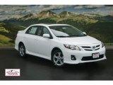 2011 Super White Toyota Corolla S #53773732