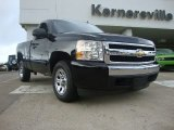 2008 Black Chevrolet Silverado 1500 LT Regular Cab #53811374