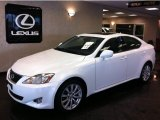 2008 Starfire White Pearl Lexus IS 250 AWD #53811564
