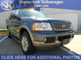 2003 Medium Wedgewood Blue Metallic Ford Explorer Eddie Bauer #53811559