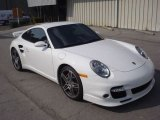 2008 Carrara White Porsche 911 Turbo Coupe #53811319