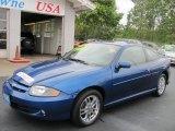 2003 Arrival Blue Metallic Chevrolet Cavalier LS Sport Coupe #53811530
