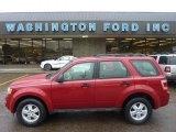 2009 Sangria Red Metallic Ford Escape XLS #53811268