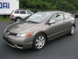 2006 Galaxy Gray Metallic Honda Civic LX Coupe #53811482