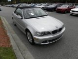 2005 Titanium Silver Metallic BMW 3 Series 325i Convertible #53811239