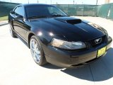 2002 Black Ford Mustang GT Coupe #53811209