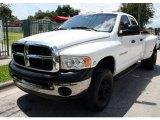 2004 Bright White Dodge Ram 3500 ST Quad Cab 4x4 Dually #53811175