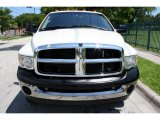 Bright White Dodge Ram 3500 in 2004