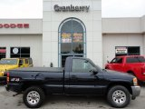 2005 Deep Blue Metallic GMC Sierra 1500 SLE Regular Cab 4x4 #53844075