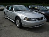 2002 Satin Silver Metallic Ford Mustang V6 Convertible #53843994