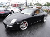 2007 Porsche 911 Carrera 4S Coupe Front 3/4 View