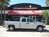 2002 Light Pewter Metallic Chevrolet Silverado 1500 LS Extended Cab #53844053