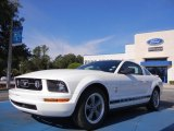 2006 Performance White Ford Mustang V6 Premium Coupe #53857371