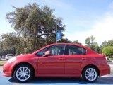2009 Suzuki SX4 Vivid Red