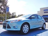 2012 Frosted Glass Metallic Ford Focus SE 5-Door #53857355