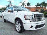 2011 White Platinum Metallic Tri-Coat Ford F150 Limited SuperCrew #53857345