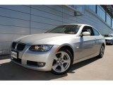 2007 Titanium Silver Metallic BMW 3 Series 328xi Coupe #53857283
