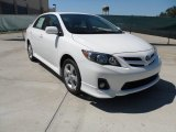 2011 Super White Toyota Corolla S #53857537