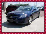 2008 Imperial Blue Metallic Chevrolet Malibu Hybrid Sedan #53857518