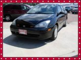 2004 Pitch Black Ford Focus LX Sedan #53857514