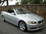 2009 Titanium Silver Metallic BMW 3 Series 335i Convertible #53774907