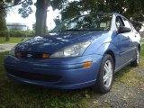 2003 French Blue Metallic Ford Focus SE Sedan #53857478