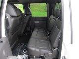 2011 Ford F350 Super Duty Lariat Crew Cab Dually Black Interior