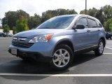 2009 Glacier Blue Metallic Honda CR-V EX 4WD #53672512