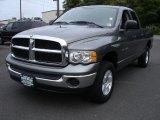 2005 Mineral Gray Metallic Dodge Ram 1500 SLT Quad Cab 4x4 #53857200