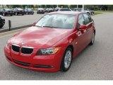 2008 Crimson Red BMW 3 Series 328xi Sedan #53857443