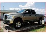 2007 Light Khaki Metallic Dodge Ram 3500 Lone Star Quad Cab 4x4 #53671657
