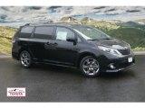 2011 Black Toyota Sienna SE #53857171