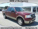 2006 Dark Toreador Red Metallic Ford F150 Lariat SuperCrew #53671651