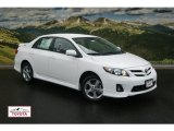 2011 Super White Toyota Corolla S #53857164