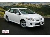 2011 Super White Toyota Corolla S #53857162