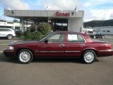 2011 Dark Toreador Red Metallic Mercury Grand Marquis LS Ultimate Edition #53857158