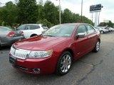 2008 Vivid Red Metallic Lincoln MKZ AWD Sedan #53857427