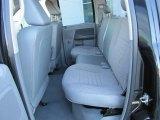 2008 Dodge Ram 1500 SXT Quad Cab Medium Slate Gray Interior