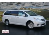 2011 Blizzard White Pearl Toyota Sienna Limited AWD #53904126
