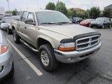 2003 Light Almond Pearl Dodge Dakota SLT Quad Cab 4x4 #53904090