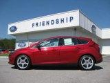 2012 Red Candy Metallic Ford Focus Titanium 5-Door #53915029