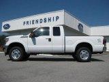 2012 Oxford White Ford F250 Super Duty XLT SuperCab 4x4 #53915025