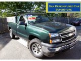 2006 Dark Green Metallic Chevrolet Silverado 1500 Regular Cab 4x4 #53915000