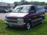 2003 Dark Carmine Red Metallic Chevrolet Astro  #53917831