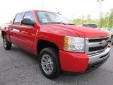 2011 Victory Red Chevrolet Silverado 1500 LS Crew Cab #53918066