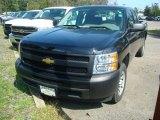 2011 Black Chevrolet Silverado 1500 Extended Cab #53917789